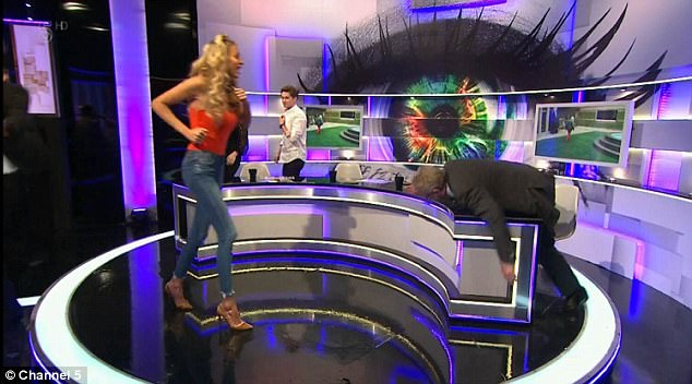 Let's do this:Rylan encouraged his panelists to exercise together in the Bit On The Side studio - like the contestants had during Thursday night's episode of CBB
