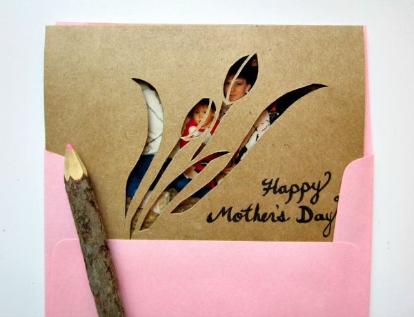 mothers day DIY card