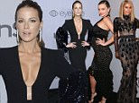 Kate Beckinsale arrives at the InStyle and Warner Bros. Golden Globes afterparty at the Beverly Hilton Hotel on Sunday, Jan. 7, 2018, in Beverly Hills, Calif. (Photo by Chris Pizzello/Invision/AP)