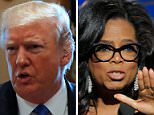 President Trump talked about a potential Oprah Winfrey rivalry in 2020 at the White House Tuesday, saying he didn't expect the talk show host to run, but suggested he would beat her and win re-election