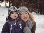 "This Jan. 1, 2017 photo provided by Danielle Campoamor shows her with her 3-year-old son, Matthias, in Tomahawk, Wis. ""I worry what kind of man I'm raising and how he'll treat women and girls later in his life,"" says Campoamor, 30, who is already taking Matthias to speaking engagements where sexual misconduct is discussed. ""Does he understand? No,"" she said. ""But it won't be a taboo topic later on. I hope he'll have the courage to stand up for what's right."" (Courtesy Danielle Campoamor via AP)"