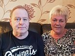 After Gary Furzer (left), 57, had surgery to have a kidney removed removed, his wife Carole-Anne, also 57, received a highly distressing call from a bereavement counselling team