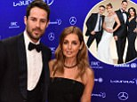 Laureus Ambassador Jamie Redknapp and wife Louise Redknapp attend the 2016 Laureus World Sports Awards at Messe Berlin on April 18, 2016 in Berlin, Germany.   (Photo by Gareth Cattermole/Getty Images for Laureus)