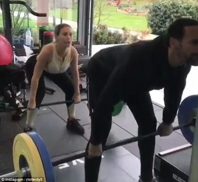 Cheeky! This comes after Rio gave a most candid look into his relationship with Kate as he shared a clip while working out on Saturday - in which he pretended to pass wind in her face, before she was left in peels of laughter