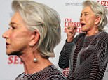 New York, NY  - The Leisure Seeker New York Screening at AMC Loews Lincoln Square in New York City. Pictured: Helen Mirren BACKGRID USA 11 JANUARY 2018  BYLINE MUST READ: MediaPunch / BACKGRID USA: +1 310 798 9111 / usasales@backgrid.com UK: +44 208 344 2007 / uksales@backgrid.com *UK Clients - Pictures Containing Children Please Pixelate Face Prior To Publication*