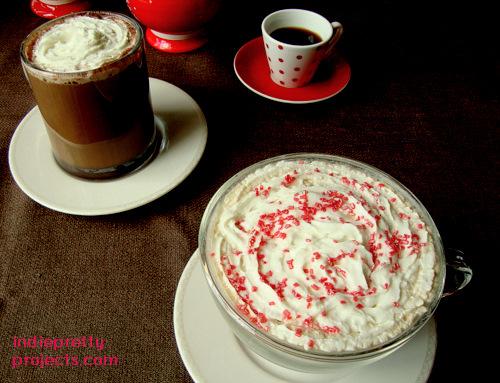 raspberry vanilla latte recipe indie pretty projects