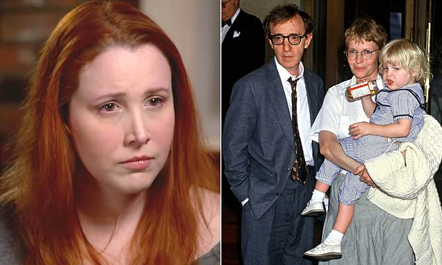 Dylan Farrow continues to discuss Woody Allen's abuse