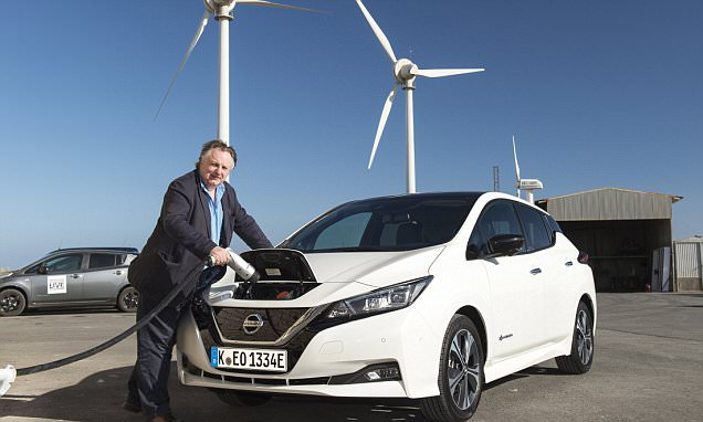 RAY MASSEY tests the new Nissan Leaf electric car