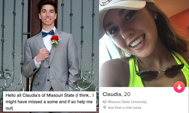 Student emails EVERY Claudia to find Tinder crush