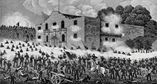 Battle of the Alamo from