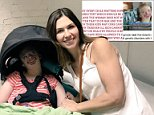 A Twitter user shared a pro-abortion poster with a photo of Natalie Weaver's severely disabled daughter Sophia