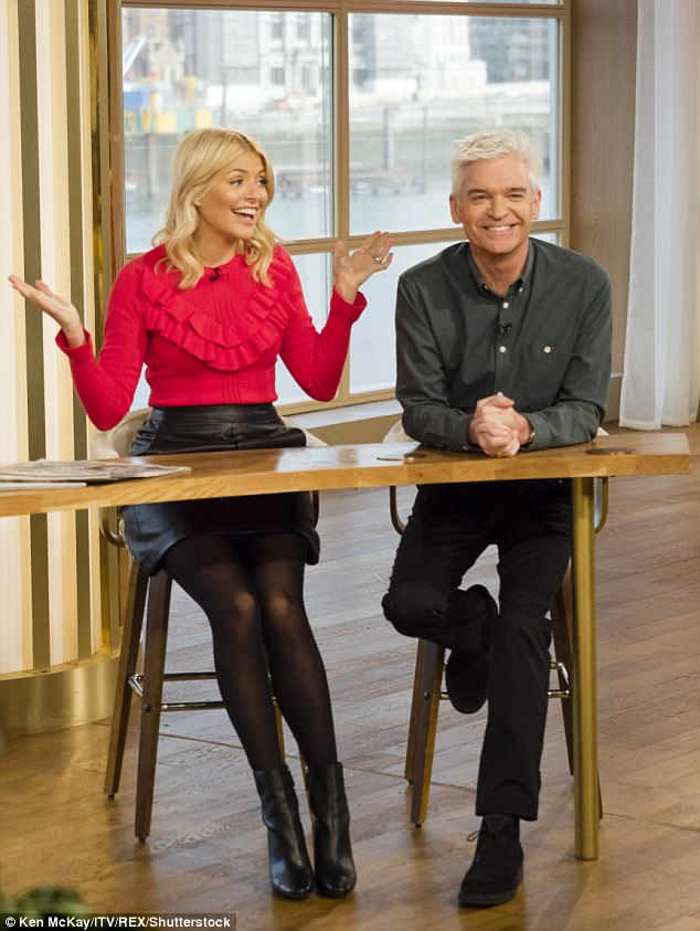 It's what they do: Holly and Phil are well known for their gaffes, giggles and cheeky quips
