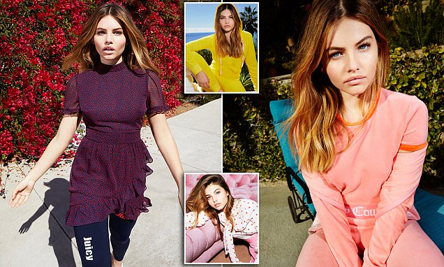 Thylane Blondeau is the new face of Juicy Couture