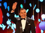 David Walliams, pictured at last night's National Television Awards, has said he did not witness any misconduct at a men-only charity event he hosted last week