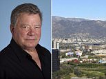 A prowler was spotted outside Star Trek legend William Shatner's home early on Thursday evening
