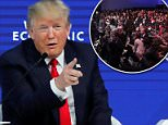 FAKE NEWS: Donald Trump lashed out at political reporters Friday in Davos, Switzerland as he fielded questions from World economic Forum executive chairman Klaus Schwab, and the foreign press responded with a smattering of boos