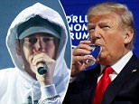 Eminem, 45, said in a recent Billboard interview that a 'f***ing turd' would have made a better president than his nemesis, Donald Trum