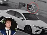Video allegedly shows Disney star Adam Hicks, 25 rob a man at his vehicle before walking back to his getaway SUV