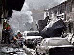 The explosion happened in a crowded part of the city where embassies are located and Kabul police have their headquarters