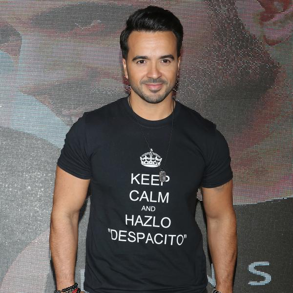 Luis Fonsi photographed in 2018