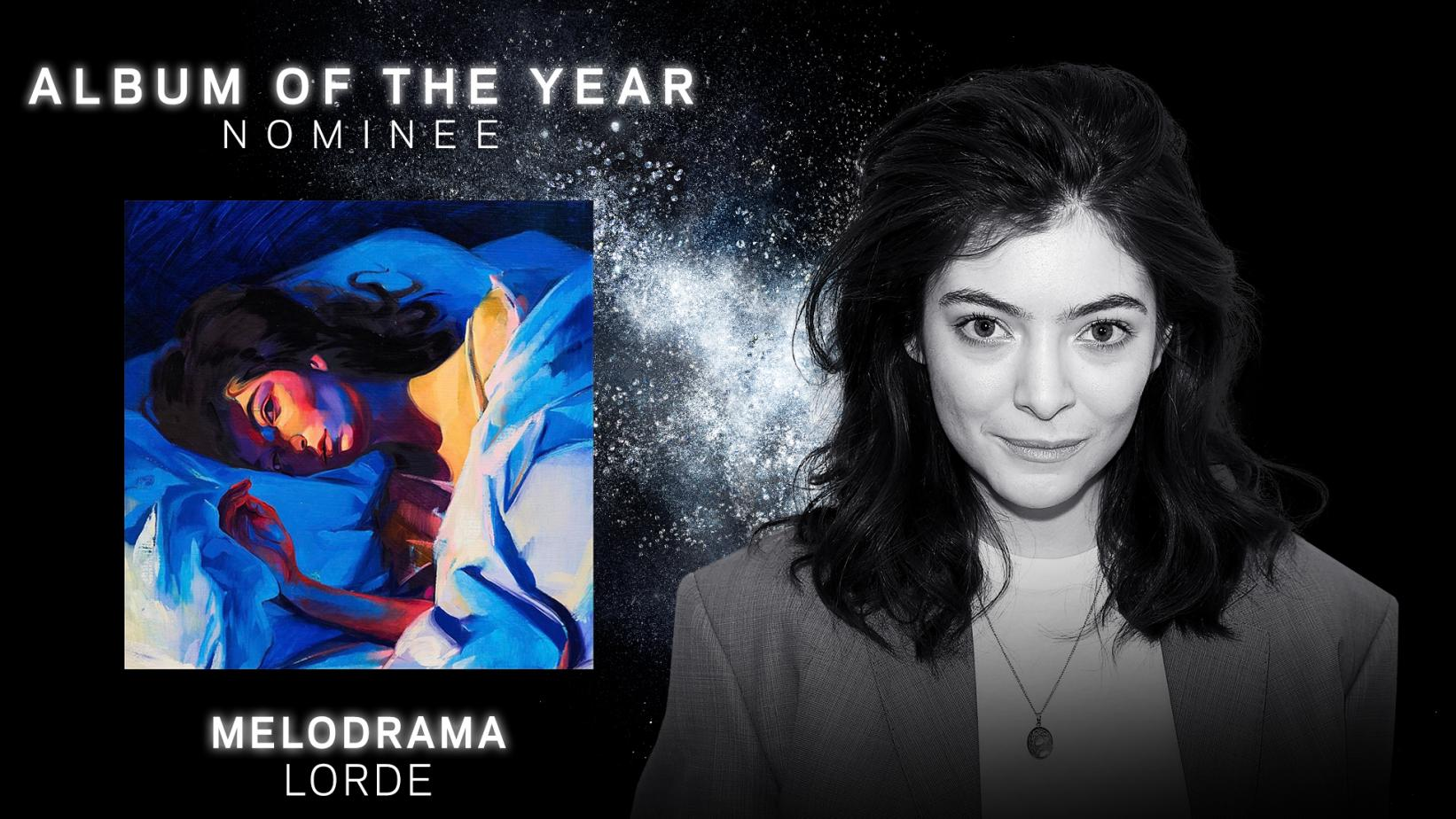 Lorde's Album Of The Year-nominated 'Melodrama'