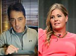 Scott Baio responded to allegations that he molested his former co-star Nicole Eggert when she was 14 years old in a Facebook Live video filmed by his wife (pictured)