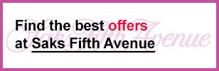 Saks Fifth Avenue coupon