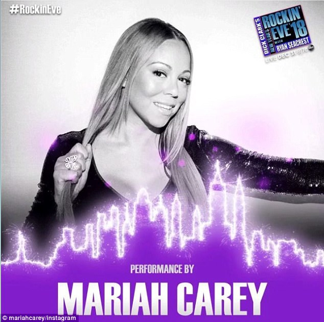 Rock out! All eyes will be on Mariah Carey, 47, as she confirmed her return to 'Dick Clark's New Year's Rockin' Eve with Ryan Seacrest' after last year's debacle