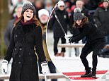 Mandatory Credit: Photo by Tim Rooke/REX/Shutterstock (9343469q) Catherine Duchess of Cambridge attends Bandy hockey event Prince William and the Duchess of Cambridge visit to Sweden - 30 Jan 2018