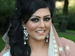 Samia Shahid (pictured), 28, was raped and strangled in an alleged honour killing