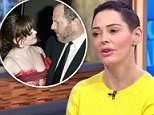 First interviews: Rose McGowan said on The View (above) that Harvey Weinstein called her three days after her rape to tell the actress she was a 'special friend'