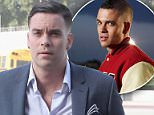 Mark Salling (pictured as he arrived for a court appearance in 2016 for child porn charges) has died of an apparent suicide