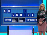 Rachel Riley spelled out `OK I squirt´ to the entertainment of viewers (Channel 4/Countdown)