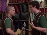 Mark Salling and Corey Monteith sing their final duet in Glee in 2010 - a haunting rendition of the Beck song Loser
