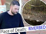 Update:Mark Salling (above in October) died on Tuesday and his body was found in a riverbed his corner's report confirms