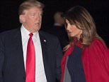 Hours after the release of a controversial memo about the FBI's perceived bias against him, President Donald Trump appeared relieved to bid farewell to a stressful week in Washington, DC and return to his beloved Mar-a-Lago estate for his traditional weekend getaway late Friday