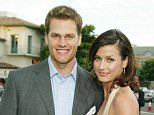 The way they were: Bridget Moynahan showed her support for the Philadelphia Eagles and their quarterback Nick Foles on Twitter during the Super Bowl (Moynahan and Tom Brady in 2004)