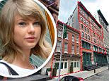 Taylor Swift has bought a second-floor apartment on Franklin Street, bringing her total spend on the Tribeca block to almost $50million. Pictured, the singer leaving her building in 2015