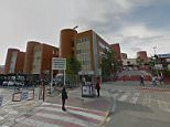An 11-year-old girl has given birth to a boy fathered by her 14-year-old brother in Spain, police have discovered.The child gave birth at Virgen de la Arrixaca hospital (pictured) in the city of Murcia after she was admitted with 'stomach pains'