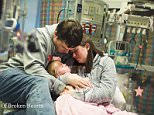 Tragic Adalynn Grace, who died a the children's hospital in Nashville, Tennessee, as she waited for her heart transplant