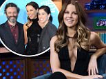 WATCH WHAT HAPPENS LIVE WITH ANDY COHEN -- Pictured: Kate Beckinsale -- (Photo by: Charles Sykes/Bravo/NBCU Photo Bank via Getty Images)