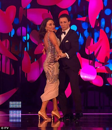 Cha-cha charming! Strictly Come Dancing head judge danced her way onto the stage to present Best Presenter