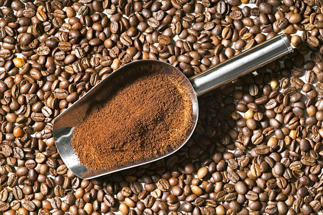Whipping up a coffee mask along with honey and oil and leaving it in for 20 minutes will help keep your locks glossy