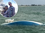 Tanner Broadwell (right), 26, and Nikki Walsh (left), 24, sold everything they owned in Colorado to buy a sailboat and live their best lives on the open sea, but that ship set sail for them when their boat sank on Wednesday