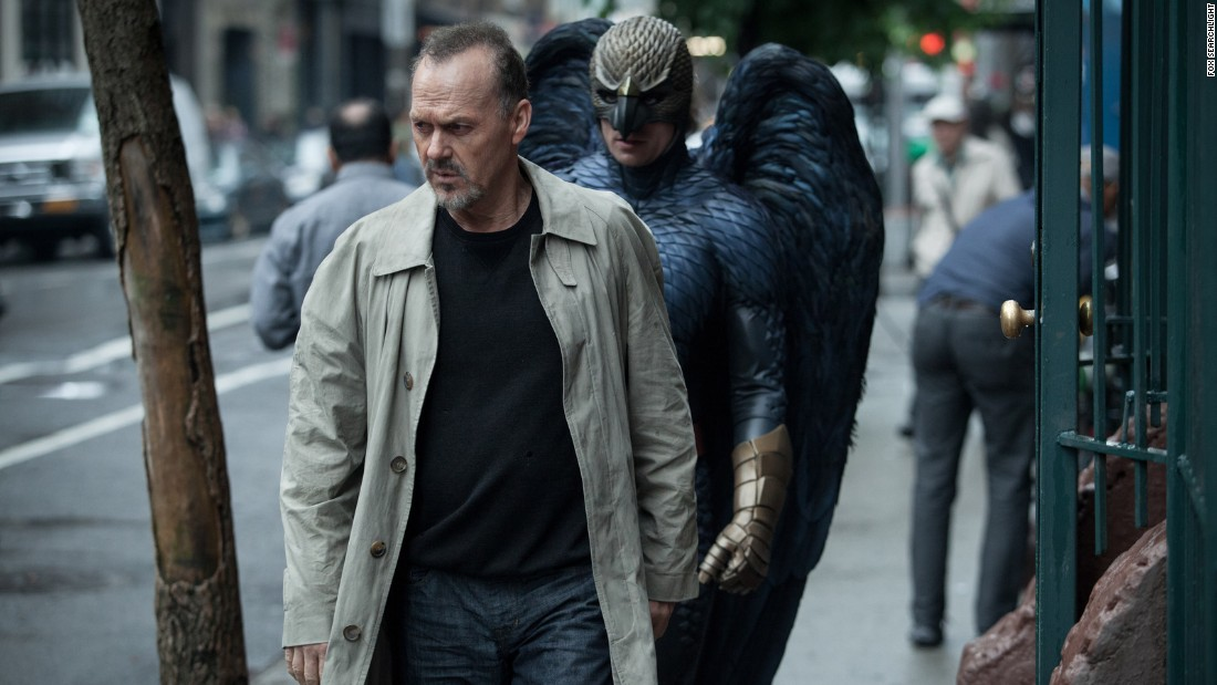"<strong>Best actor in a motion picture -- musical or comedy:</strong> Michael Keaton, ""Birdman"""