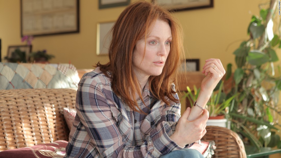 "<strong>Best actress in a motion picture -- drama: </strong>Julianne Moore, ""Still Alice"""