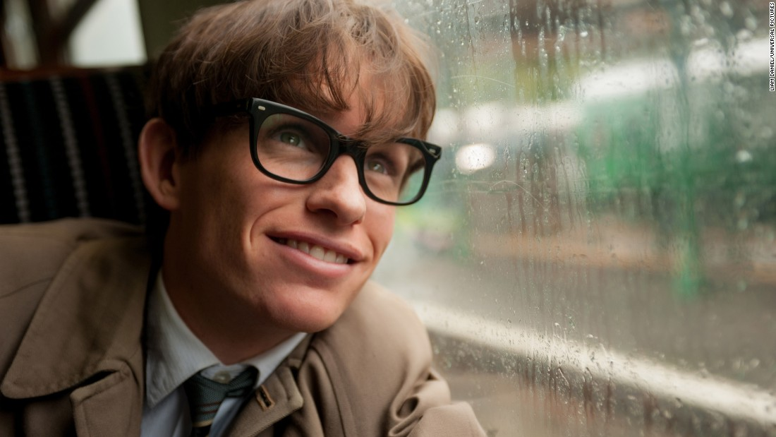 "<strong>Best actor in a motion picture -- drama:</strong> Eddie Redmayne, ""The Theory of Everything"""