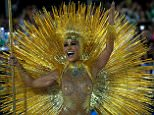Rio de Janeiro came alive on Sunday night as the city's carnival hit its peak in a stunning cocktail of glamour, fancy dress and pounding samba anthems. Television personalitySabrina Sato (pictured) was among those who performed with theVila Isabel samba school on the first night of the carnival at the Sambadrome