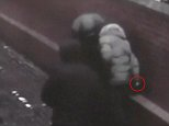 Shocking CCTV footage shows one man using a knife to repeatedly stab the victim in his leg