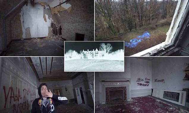 A spine-chilling tour of an abandoned Baltimore mansion